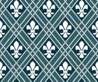 Fleur de lis pattern Stock Photo
