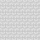 Fleur De Lis powtórki wzoru francuski tło w szarość obrazy stock