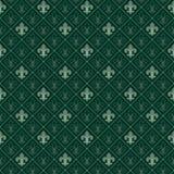 Fleur de lis seamless pattern stock illustration