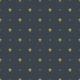 Fleur-de-lis seamless pattern background Royalty Free Stock Photos