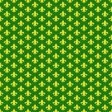 Fleur De Lis Seamless Pattern royalty free stock images