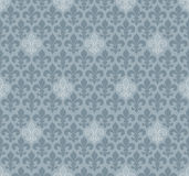 Fleur-de-lis seamless wallpaper. Stock Image