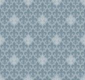 Fleur-de-lis seamless wallpaper. Stock Image