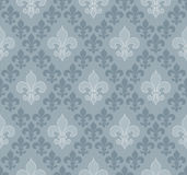 Fleur-de-lis seamless wallpaper. Stock Photography
