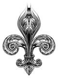 Fleur de Lis Symbol Imágenes de archivo libres de regalías