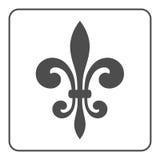 Fleur de Lis Symbol Στοκ εικόνες με δικαίωμα ελεύθερης χρήσης