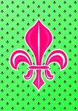 Fleur de Lis Symbol Στοκ φωτογραφίες με δικαίωμα ελεύθερης χρήσης