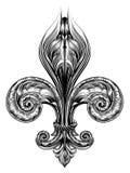 Fleur de Lis Symbol Royalty Free Stock Images