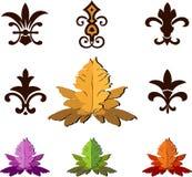 Fleur de Lis symbols Stock Image