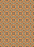 Fleur-De-Lis Tiles. Computer generated tiles with a Fleur-De-Lis and circle pattern Royalty Free Stock Image