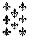 Fleur De Lis Vector 2. A classic victorian wallpaper pattern created in Adobe Illustrator Stock Photography