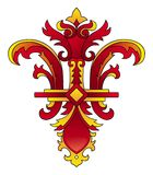 Fleur-de-lis vector Royalty Free Stock Photo