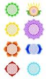 Fleur de Live Chakras Image stock