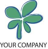 Fleur de logo Photo stock