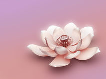 Fleur de lotus illustration stock