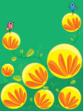 Fleur de lune de lanterne Photos stock