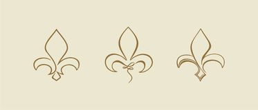Fleur de Lys Royalty Free Stock Images