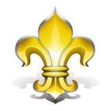 Fleur DE Lys Royalty-vrije Stock Afbeelding