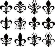 Fleur De Lys symbol royalty ilustracja