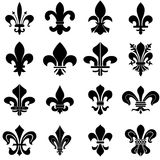 Fleur de Lys symbols Royalty Free Stock Photos