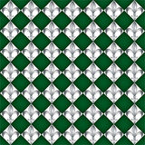 Fleur de lys tiles Royalty Free Stock Photo