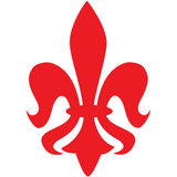 Fleur de lys vector  Royalty Free Stock Photos
