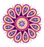 Fleur de mandala Images libres de droits