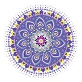 Fleur de mandala Photographie stock