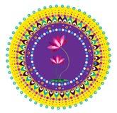 Fleur de mandala Image libre de droits