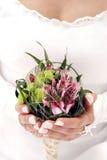 Fleur de mariage photographie stock libre de droits