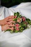 Fleur de mariage Image stock