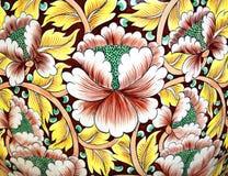 Fleur de mur en céramique images libres de droits