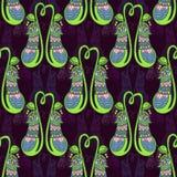 Fleur de Nepenthes Photo libre de droits