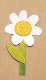 Fleur de papier Image libre de droits