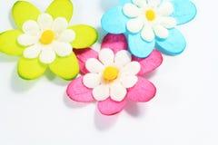 Fleur de papier fabriquée à la main Images libres de droits