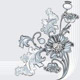 Fleur de pavot illustration de vecteur