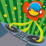 Fleur de pavot du DJ Photographie stock