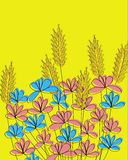 Fleur de pays Photos stock