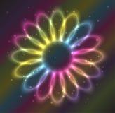 Fleur de plasma Photos stock