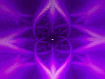 Fleur de pourpre d'abstraction Photo stock