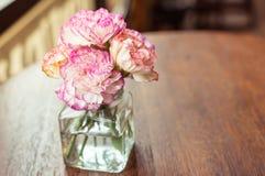 fleur de Rétro-vintage Photo stock