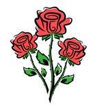 Fleur de Rose illustration de vecteur