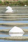 Fleur de Sel Salt Pools fotografia de stock royalty free