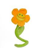 Fleur de sourire de jouet Photos libres de droits
