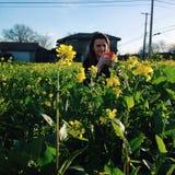 fleur de zone Photographie stock