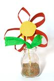 Fleur disposée photo stock