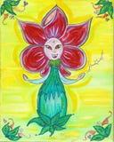 fleur e f Стоковое Изображение