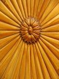 Fleur en bois Image libre de droits