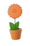 Fleur en bois Photographie stock libre de droits