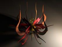 Fleur en métal illustration de vecteur